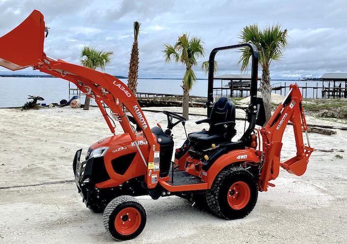Beach Restoration - Webbs's Hardware & Marine Services