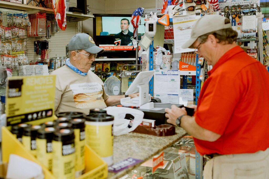 Cashier Front - Webb's Hardware & Marine Services - Southern Alabama